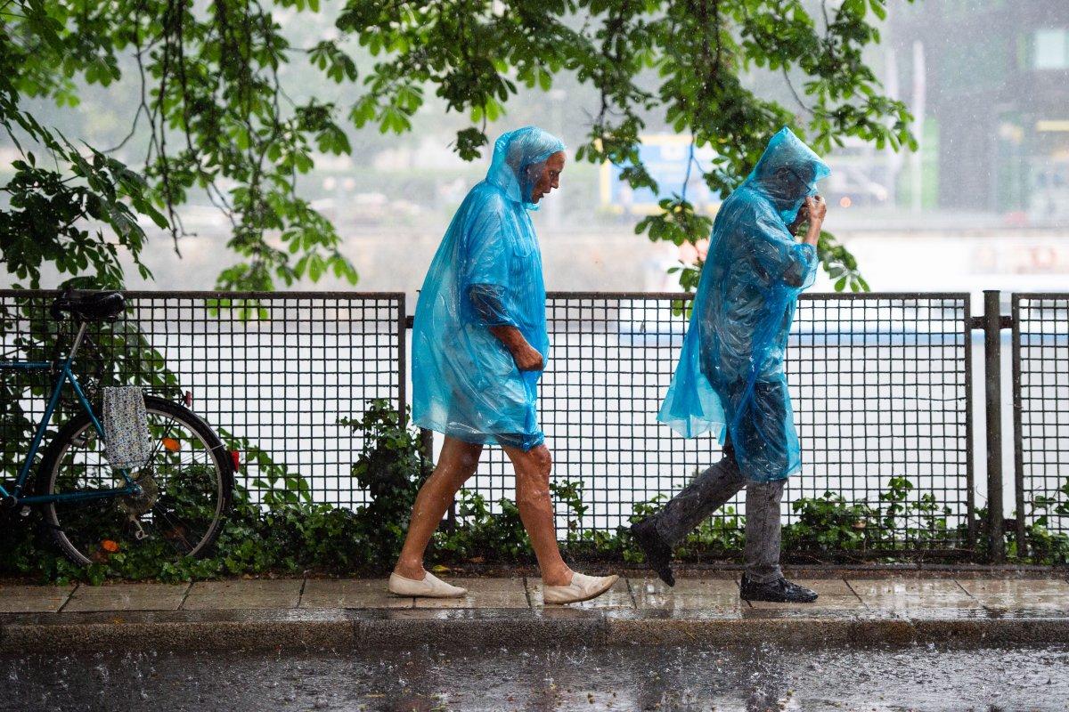 Wetter in Berlin: Wetterdienst erwartet kräftige Schauer und Gewitter
