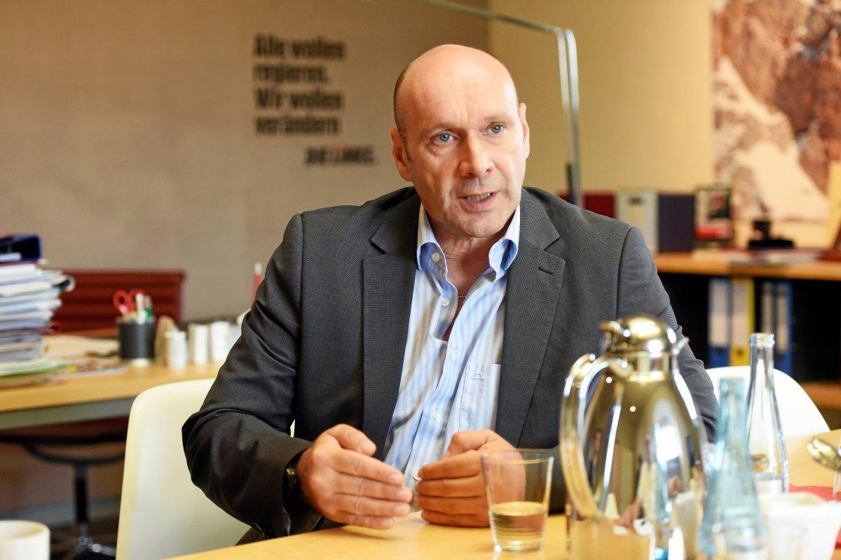 Wohnraum ist für Linke-Fraktionschef Wolf ein Menschenrecht