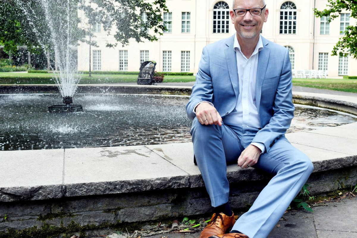 Christoph-Martin Vogtherr ist der Herr über 28 Schlösser