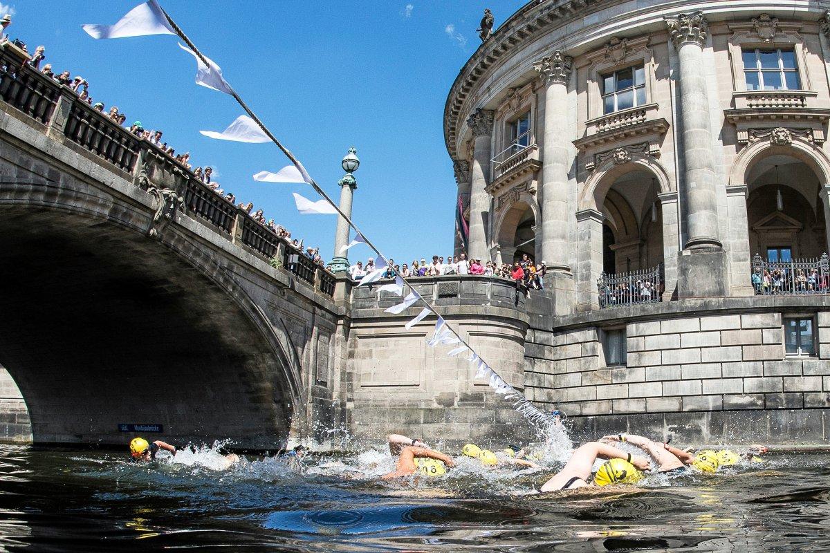 Flussbadpokal in der Spree wegen Algenblüte abgesagt