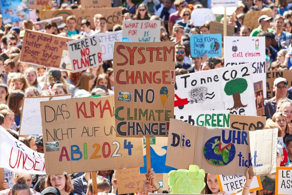Klimastreik am 20.9. 2019 in Berlin: Klimaschützer wollen den Verkehr lahmlegen