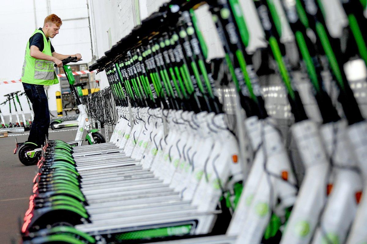 E-Scooter in Berlin: Anbieter Lime stellt einen Rekord auf
