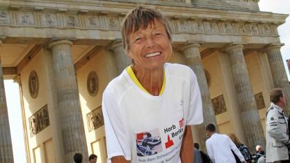 Zum 22. Mal wird Sigrid Eichner am Sonntag das Brandenburger Tor durchlaufen.
