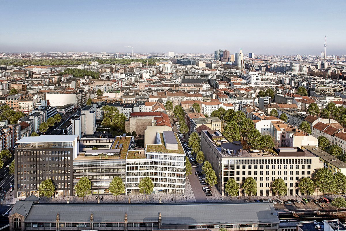 Rekord auf Berlins Büroimmobilienmarkt