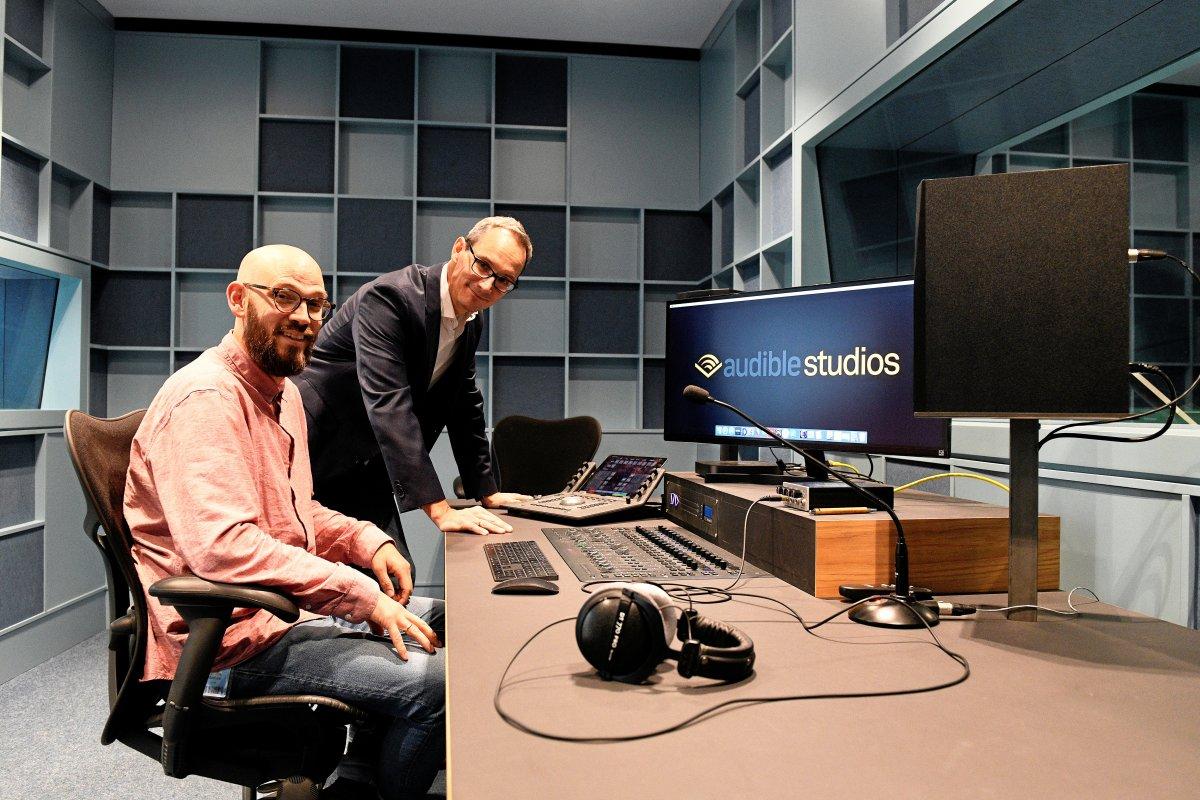 Audible produziert nun in eigenen Studios in Berlin