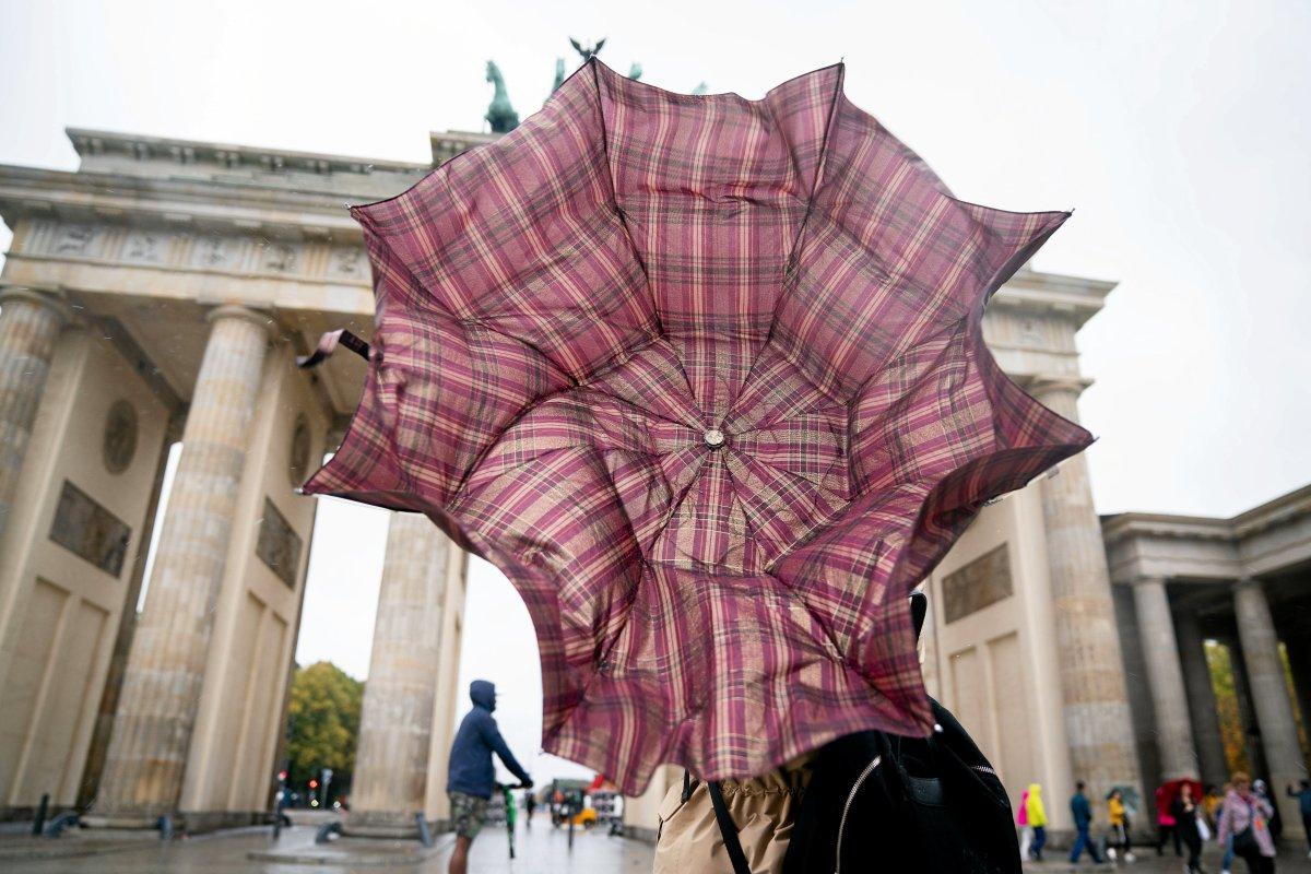 Amtliche Warnung vor Windböen in Berlin