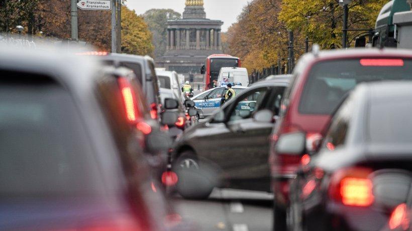 Fahrverbot Berlin: Ab 2030 sollen Diesel- und Benzin-Pkw nicht mehr in die City fahren