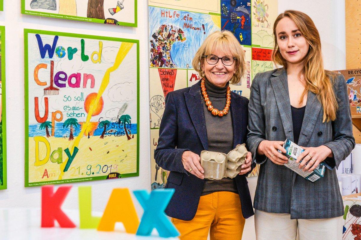 Kinderkunst: Wie die Jugend Berlins Umweltprobleme beklagt