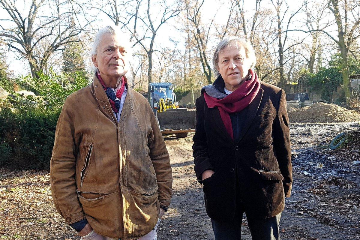 Kreuzberg: Ärger um Flüchtlingsheime auf Friedhof