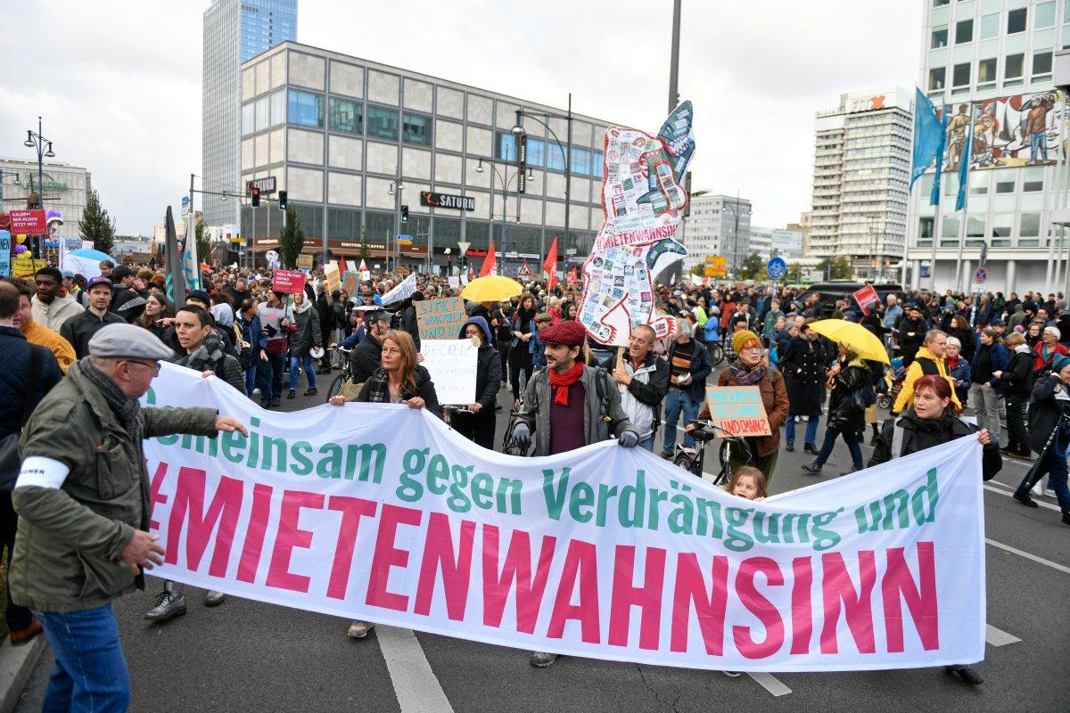 Bündnis ruft zur Demonstration gegen Mietenwahnsinn auf