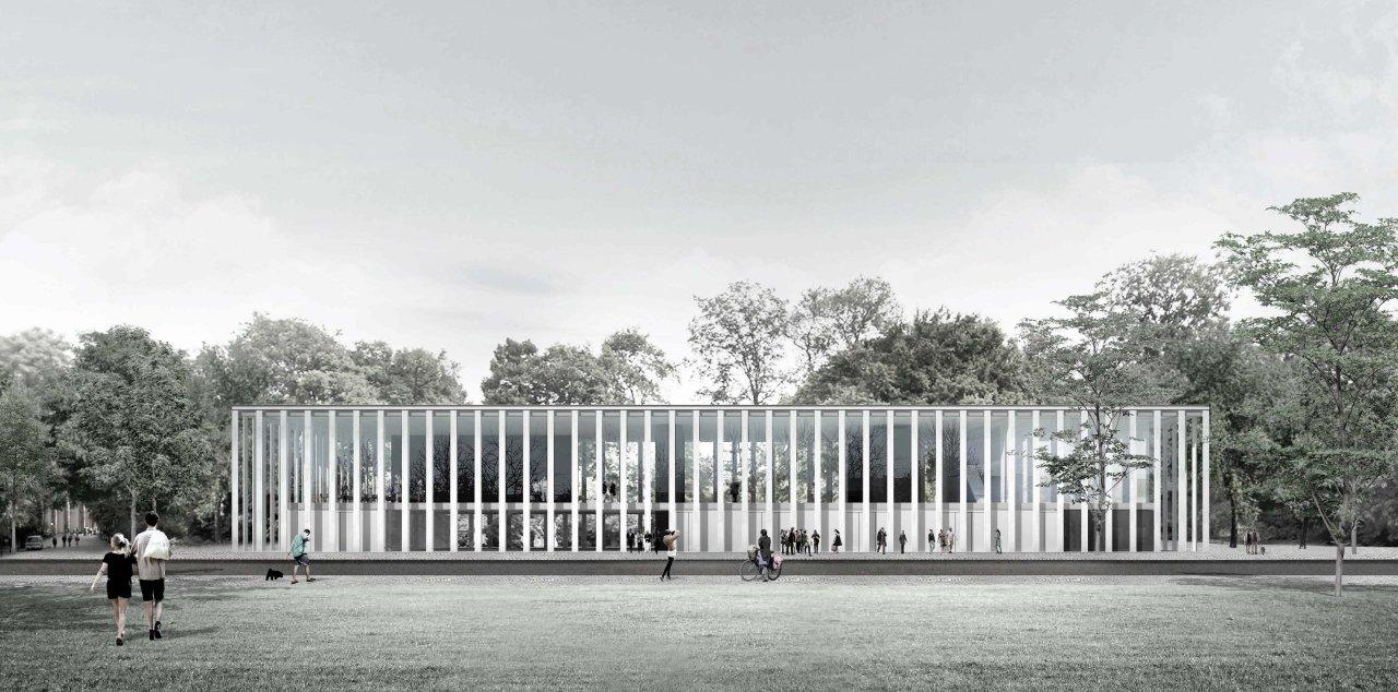 """Die Jury lobt die """"großzügige Eingangssituation für die Besucher"""" des Entwurfs aus Zürich"""