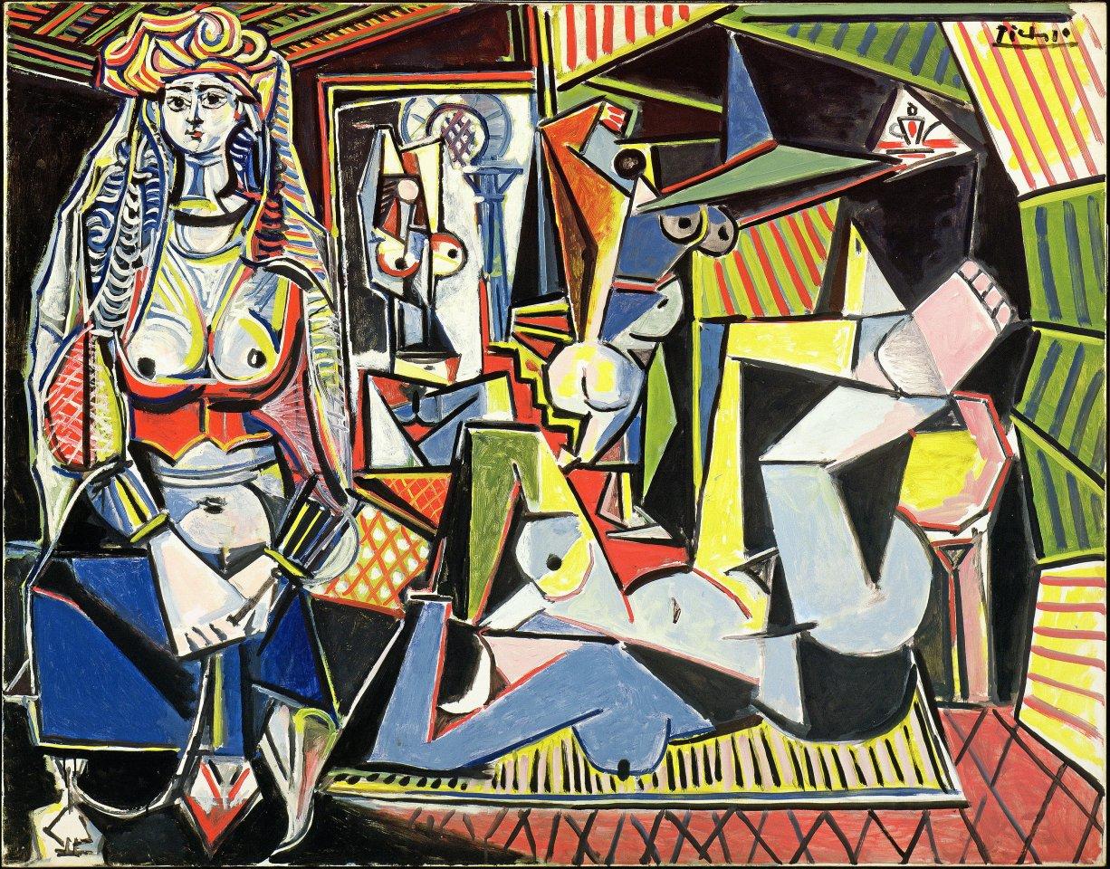 """Ein Coup, geplant ab dem 7. Mai: Die Sammlung Berggruen vereint den Großteil der berühmten Serie """"Femmes d'Alger"""" von Pablo Picasso.Images/Succession Picasso/VG Bild-Kunst, Bonn 2021"""