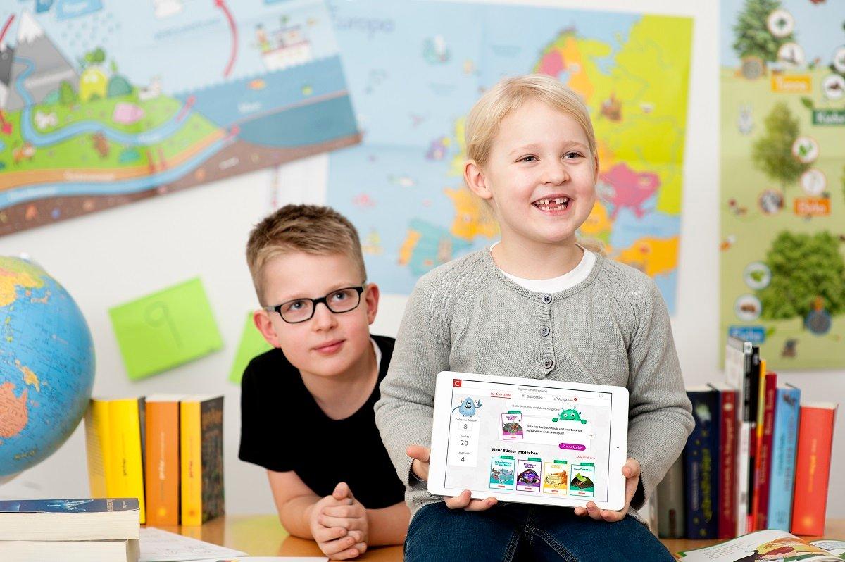 """Schon bei den Kleinsten weckt die Online-Plattform """"Leseo"""" Spaß am Lesen."""