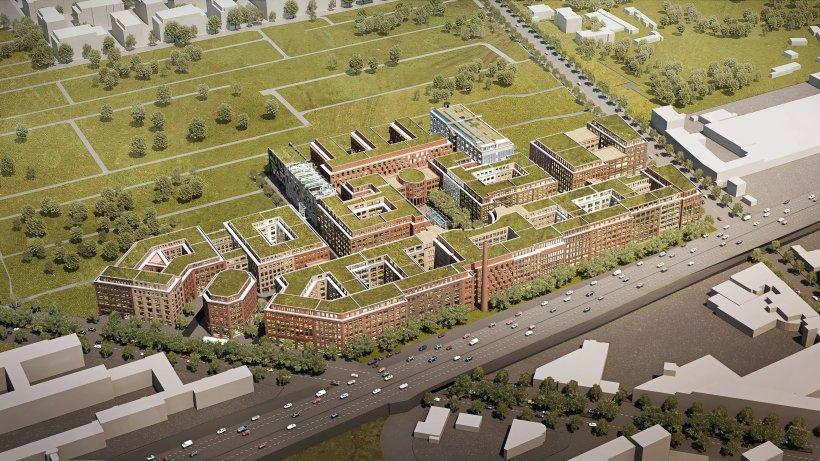 Berlin Charlottenburg Wilmersdorf: Ehemalige Zigarettenfabrik in Schmargendorf wird neues Arbeitsquartier