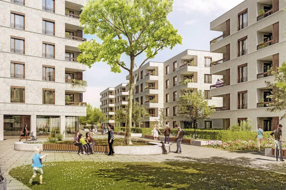 Baugenossenschaft Baut 159 Wohnungen Und übt Kritik Am Land