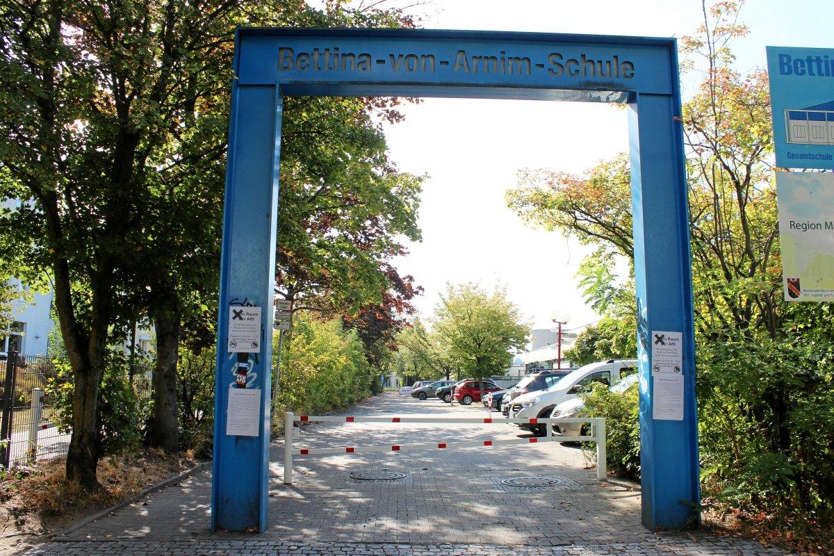 Reinickendorf: Schadstoffe - Schul-Sporthallen der Bettina-von Arnim-Schule gesperrt