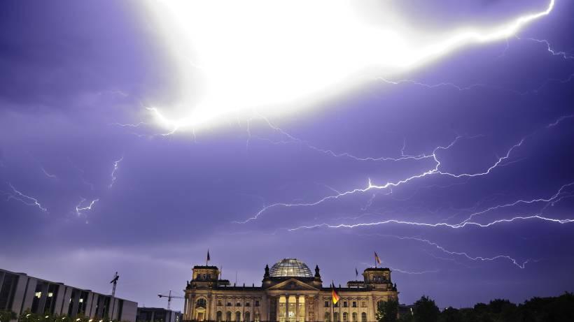 Schweres Unwetter Zieht über Berlin Berlin Aktuelle Nachrichten
