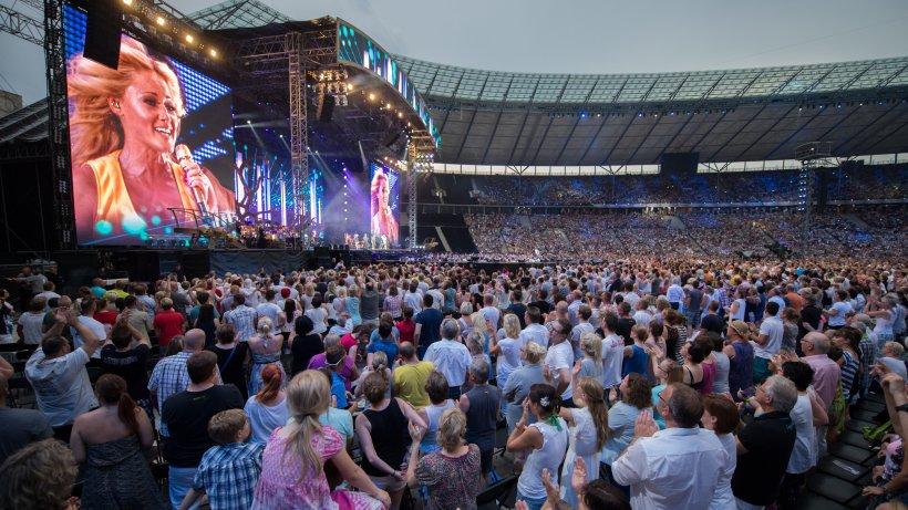 Helene Fischer Konzert Berlin Olympiastadion