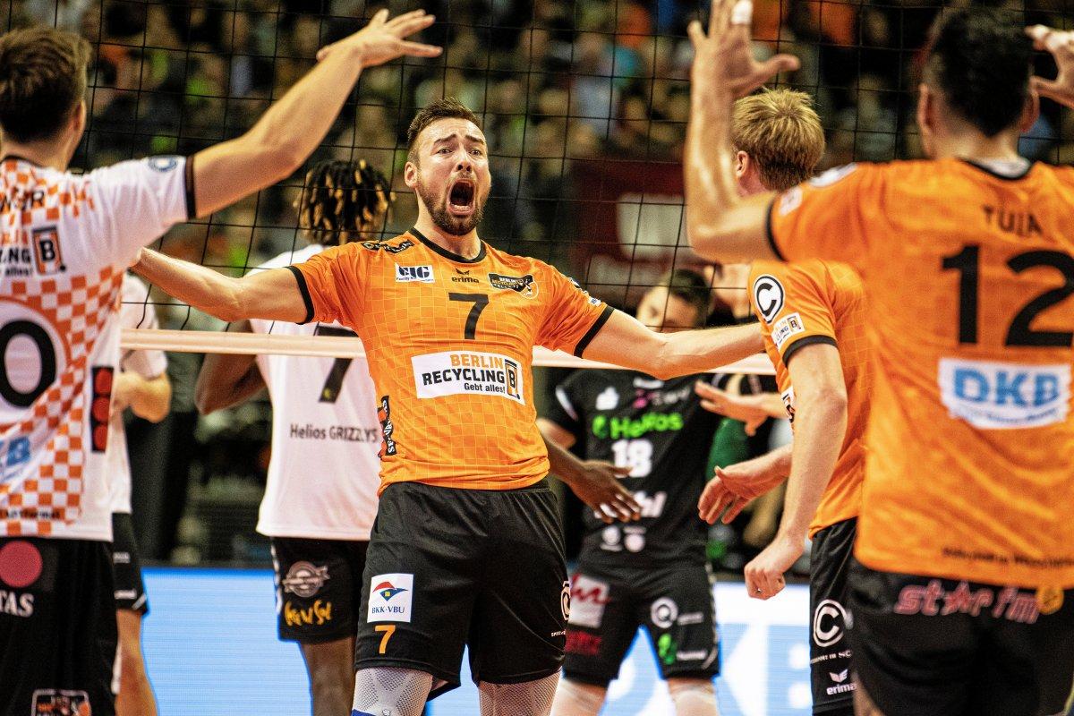 BR Volleys erleben im Supercup eine Weltpremiere
