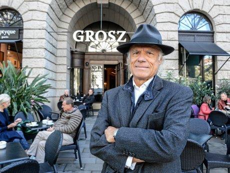 """Thomas Bscher ist der Besitzer der Räume im Haus Cumberland, in denen das """"Grosz"""" angesiedelt ist."""
