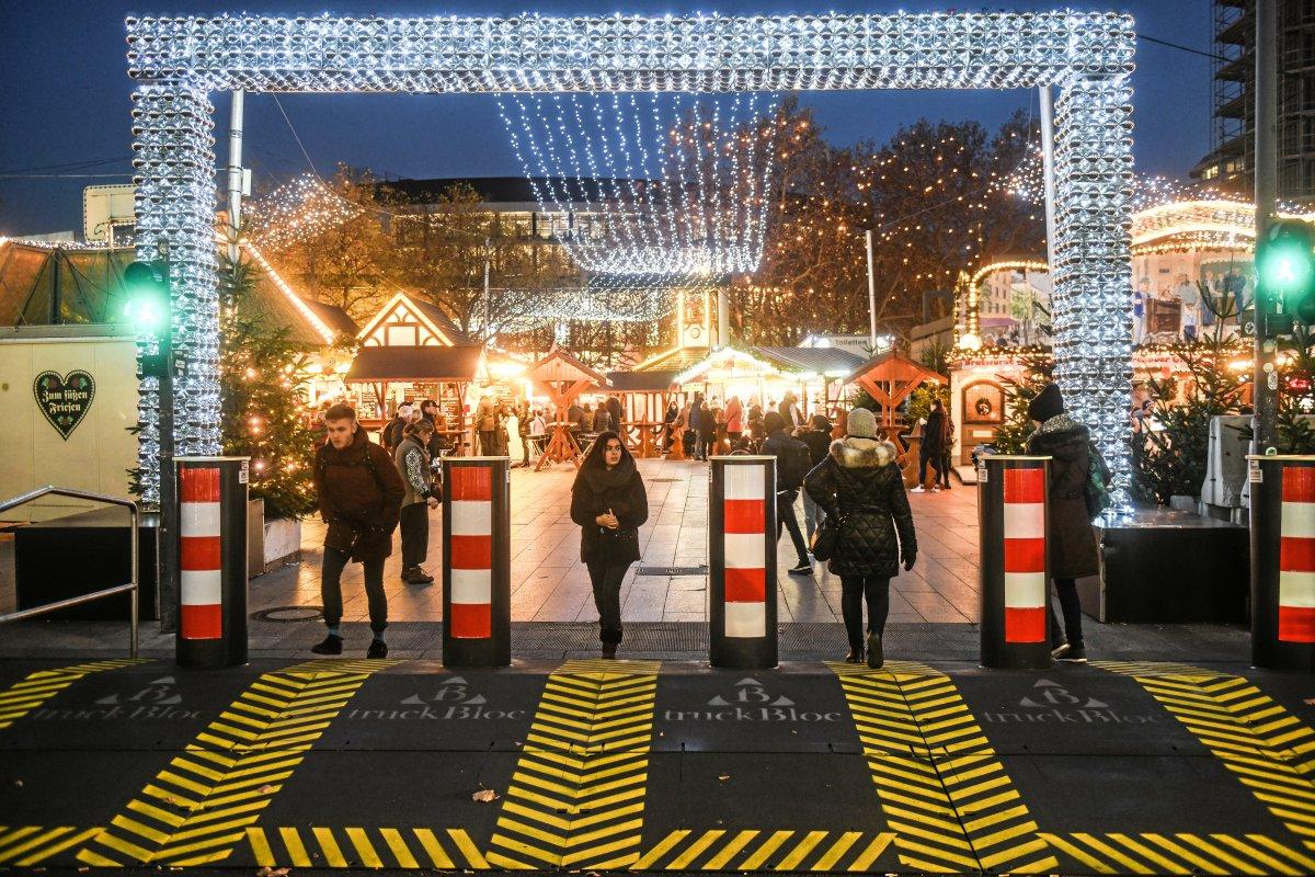 Weihnachtsmarkt: Sperrungen am Breitscheidplatz