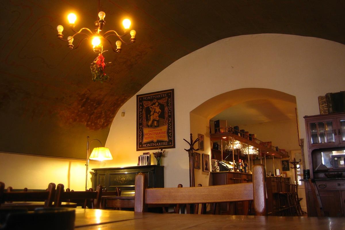Künstler und Schriftsteller trafen sich im Kaffeehaus