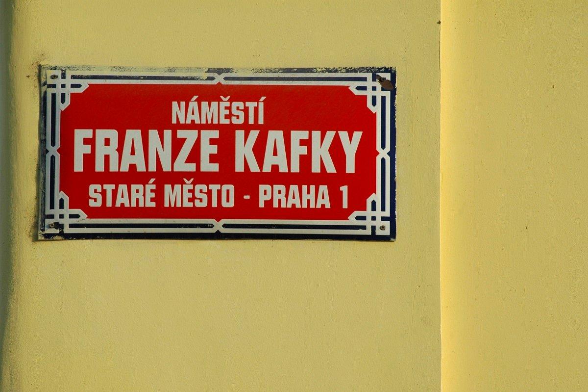 Am Franz-Kafka-Platz (Namesty Franze Kafky) befindet sich das Geburtshaus des bekannten Schriftstellers