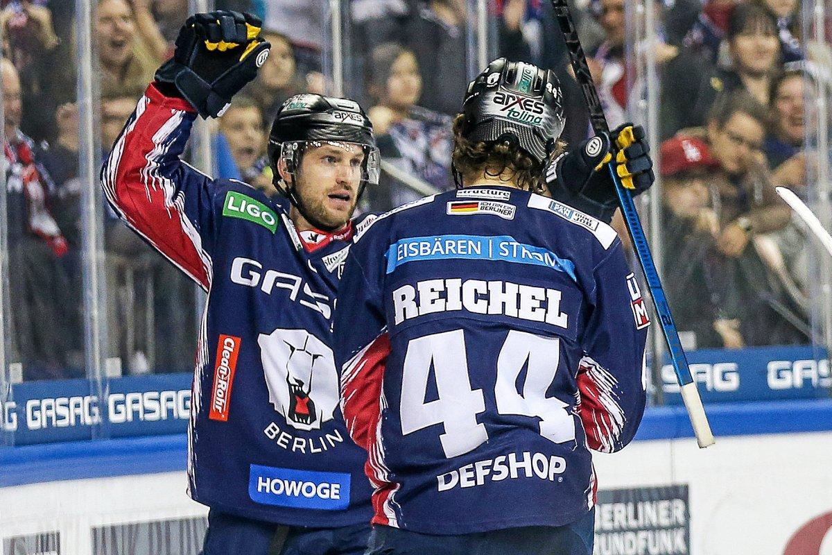 Eishockey: EHC Red Bull München gegen die Eisbären Berlin live im TV & Stream
