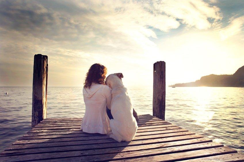 Mit Bello gemeinsam in den Sonnenuntergang schauen - der perfekte Urlaub
