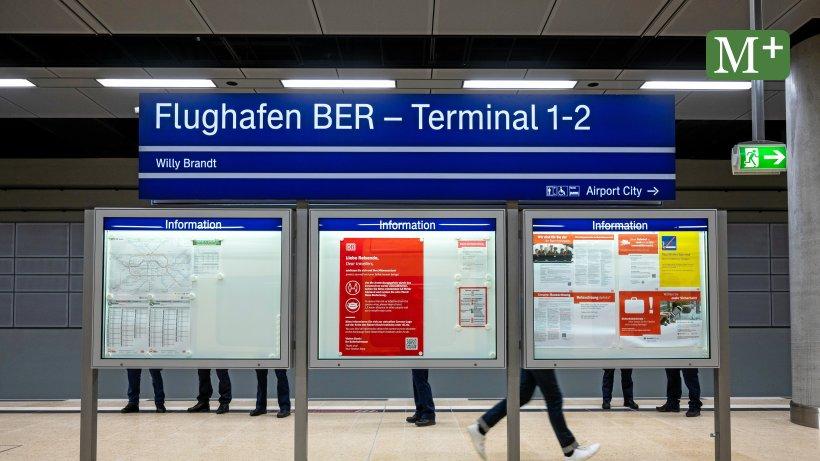 Wie komme ich am schnellsten zum BER? - Berliner Morgenpost