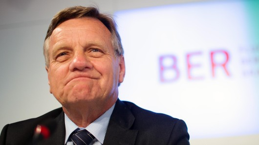 Noch BER-Chef: Hartmut Mehdorn