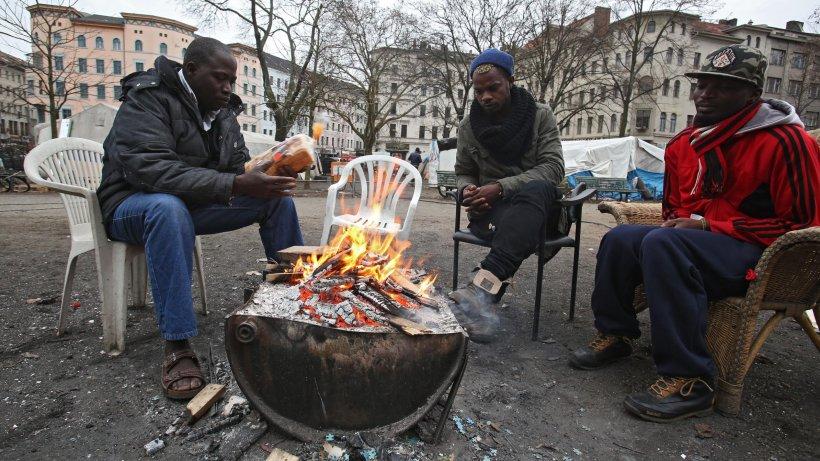 Flüchtlinge Friedrichshain