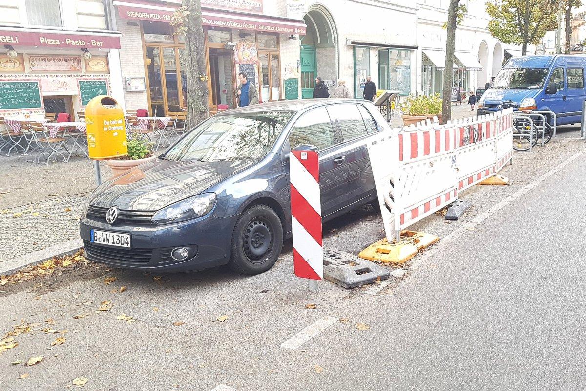 Bergmannstraße in Berlin-Kreuzberg: Anwohner erhebt Untätigkeitsklage