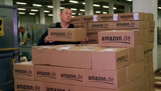 Vertriebszentrum von Amazon.de in Bad Hersfeld