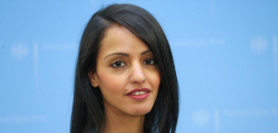 Die neue stellvertretende Sprecherin des Außenministeriums, Sawsan Chebli