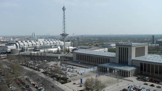 Das Messegelände in Berlin