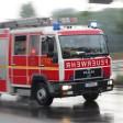 In Friedrichshain musste die Feuerwehr ein brennendes Auto löschen