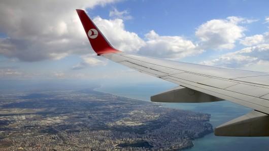 Eine Boeing 737-800 der Turkish Airlines