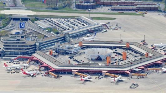 Der Flughafen in Tegel