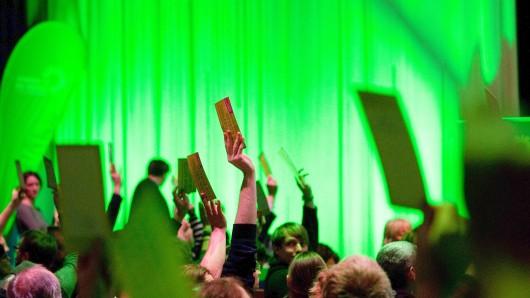 Delegierte der Landesmitgliederversammlung der Berliner Partei Bündnis  90/ Die Grünen
