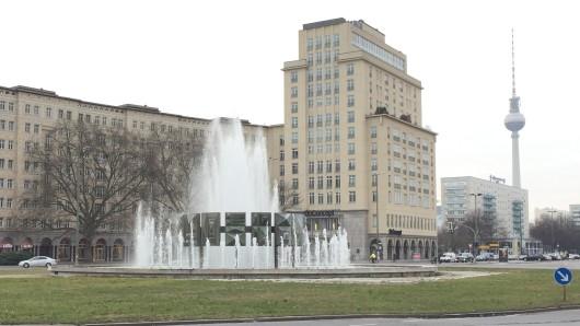 Brunnen auf dem Strausberger Platz