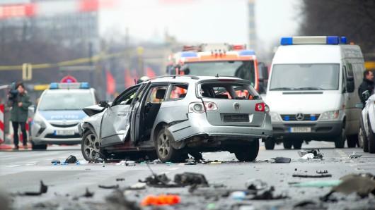 Die Szenerie nach der Explosion vor knapp zwei Monaten