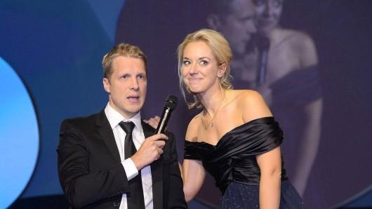 Oliver Pocher und Sabine Lisicki im Oktober 2015