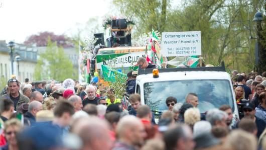 Auch in diesem Jahr kamen wieder Hunderttausende nach Werder
