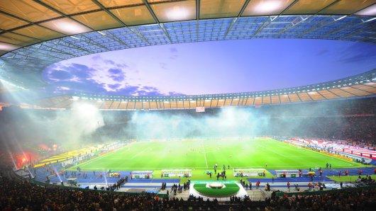 Das DFB-Pokal-Finale im Olympiastadion