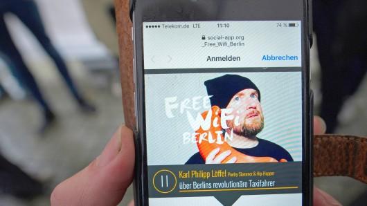 Free WiFi Berlin ist am 1. Juni in Berlin gestartet und soll kontinuierlich ausgebaut werden