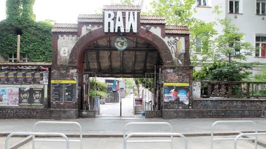Das RAW-Gelände in Friedrichshain