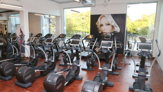 Der Hard-Candy-Fitnessclub  in der Clayallee
