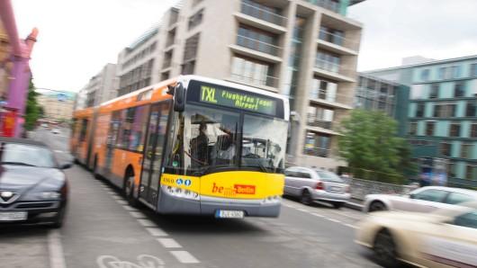 Laut Zeitungsberichten soll die BVG einen groß angelegten Ausbau ihres Busspur-Netzes planen