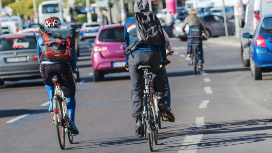 Radfahren ist in Berlin nicht ungefährlich